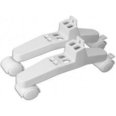 Комплект (2 ножки+1 ручка) для установки на пол