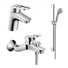 1022019 Набор для ванной комнаты Logis (26533400+71100000+71400000)