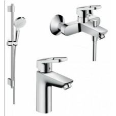 1062018 Набор для ванной комнаты  Logis Loop (31730000+31940000+27763000)