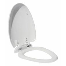 800-821Ва сиденье для унитаза пластик с микролифтом, белое  MELANA