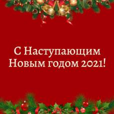 С Новым годом наступающим!