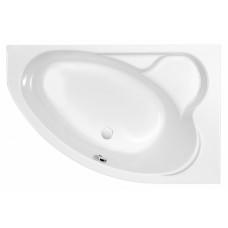 Акриловая ванна KALIOPE 153x100 правая без ножек, белая