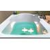Акриловая ванна SANTANA 170*70 с ножками, белый