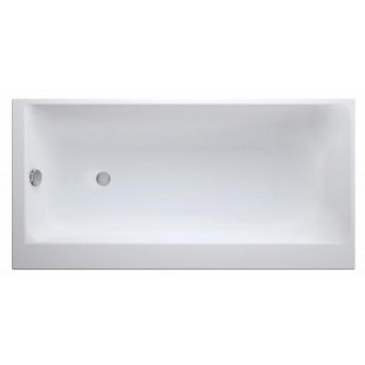 Акриловая ванна SMART 170*80 левая, без ножек, белый