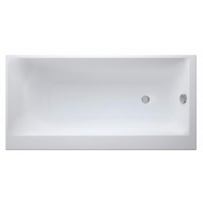 Акриловая ванна SMART 170*80 правая, без ножек, белый
