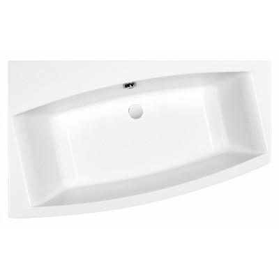 Акриловая ванна VIRGO 150*90 левая с ножками, белый