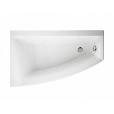 Акриловая ванна Cersanit VIRGO MAX 150*90 правая с ножками, белый