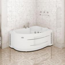 Гидромассажная ванна Radomir Ирма 169х110 г/м 8 форсунок Chrome