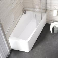 Передняя панель А для ванны 10` 170 левая белая