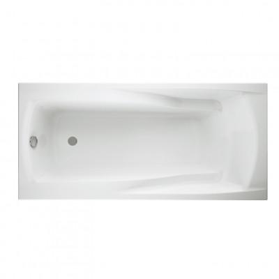 Акриловая ванна ZEN 180*85 без ножек, белый
