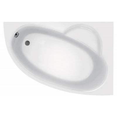 Акриловая ассимметричная ванна Jika GENEVE 150х100, правая с м/к и сифоном
