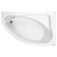 Акриловая ассимметрисная ванна Jika SPIRIT 163х104, правая с м/к и сифоном