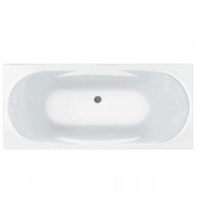 Акриловая прямоугольная ванна Jika Ecliptica 180х80, с м/к и сифоном