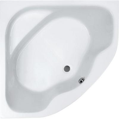 Акриловая симметричная ванна Jika LUCERNE 140х140, с монтажным комплектом и сифоном