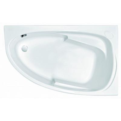Асимметричная акриловая ванна Cersanit JOANNA 140x90 правая с ножками БЕЗ панели
