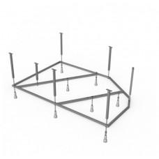 Каркас сварной + установочный комплект 150*100 Ялт
