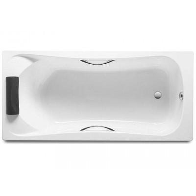 Акриловая прямоугольная ванна Roca BeCool 170*80