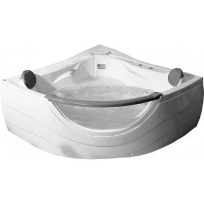 Акриловая ванна A-2121 152*152*62, с аэромассажем и гидромассажем