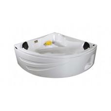 Ванна TS-1515 152*152*66 пустая в разборе с подголовниками (2 шт)