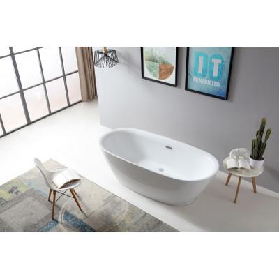 Акриловая отдельностоящая ванна ABBER AB9205 180х84