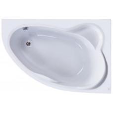 Акриловая ассиметричная ванна Jika CONSTANCE 170х115, правая с м/к и сифоном