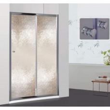Душевая дверь RGW CL-12 (136-141)*185, хром, шиншила, 5 мм (Easy)